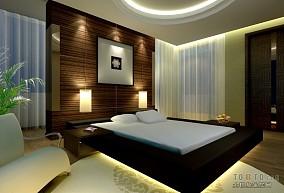 时尚美式卧室婚房装修