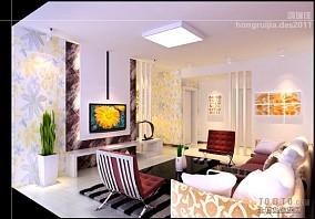 公寓中式装修实景图片