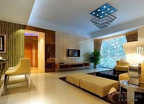 客厅精美真皮沙发装修