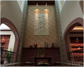 现代风格家居客厅柜设计