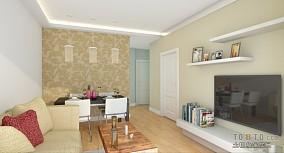 典雅108平米三居室图片