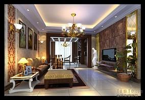 客厅美式台灯图片