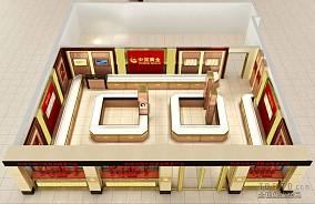 中餐厅卡座设计