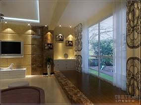 美式混搭70平小户型家居设计装修