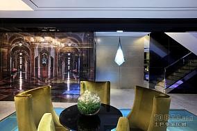 宜家风格公寓背景墙家装设计效果图