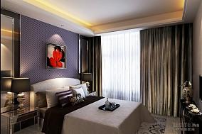 现代创意色彩卧室装修