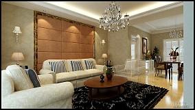 哥特式别墅客厅装修设计
