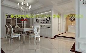 现代风格美式餐厅设计