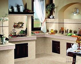 简约开放式厨房装吧台修效果图