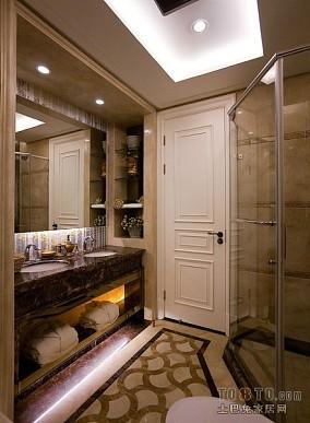 美式百叶窗帘客厅