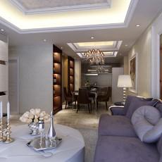 欧式风格客厅沙发装修效果图