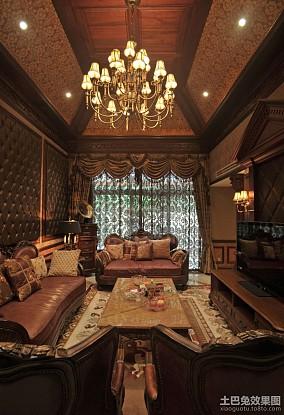 豪华别墅客厅--重庆兄弟装饰