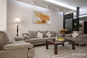 面积143平中式四居客厅装修图片大全
