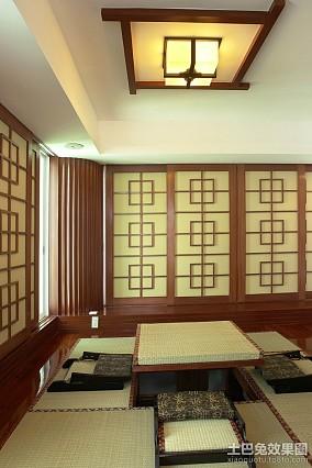 中式休闲榻榻米装修效果图
