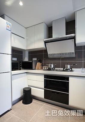 精美面积72平欧式二居厨房装修设计效果图片大全