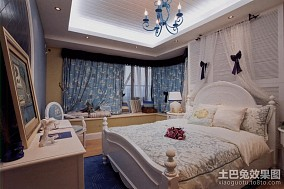 地中海卧室带飘窗装修效果图欣赏