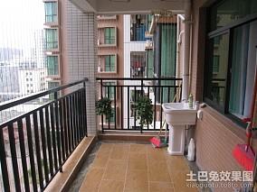 现代家庭装修阳台设计