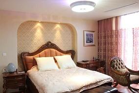 2018面积127平复式卧室美式装修图片大全