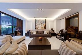 精美133平米日式复式客厅装修欣赏图片