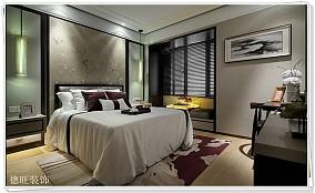 精美100平米三居卧室现代效果图片