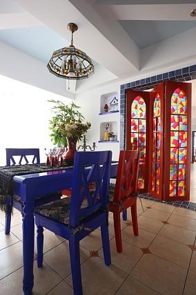精选面积137平地中海四居餐厅装修欣赏图片大全