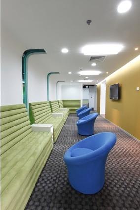 员工休息室设计图欣赏
