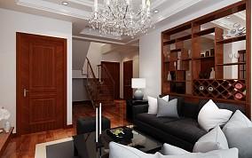 热门面积124平复式客厅现代装修欣赏图片