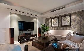 精选89平米欧式小户型客厅效果图片大全