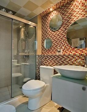 精美面积80平小户型卫生间现代装修图