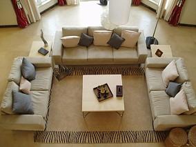 热门79平米现代小户型客厅装修设计效果图片
