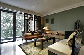 精选77平米中式小户型客厅装修设计效果图