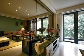 精美面积94平东南亚三居客厅装修设计效果图