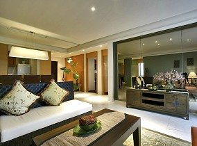 2018精选东南亚三居客厅装修实景图片