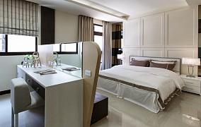 2018精选124平米现代复式卧室装修效果图片欣赏