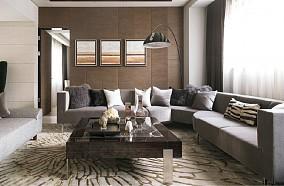 精美简约一居客厅装修效果图
