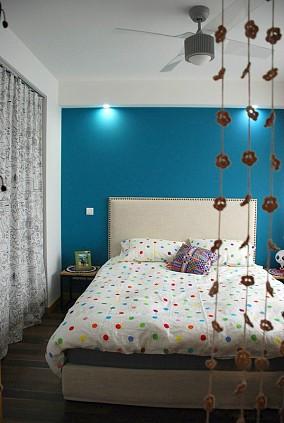 精美75平米宜家小户型卧室实景图片