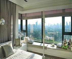欧式卧室大飘窗装修效果图