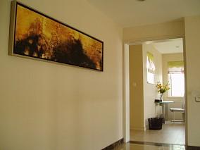 室内过道挂画效果图