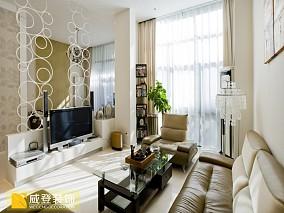 热门面积123平复式客厅现代实景图片大全