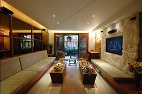 中式四居客厅装饰图片欣赏