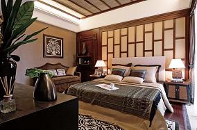 精美别墅卧室东南亚装修欣赏图片